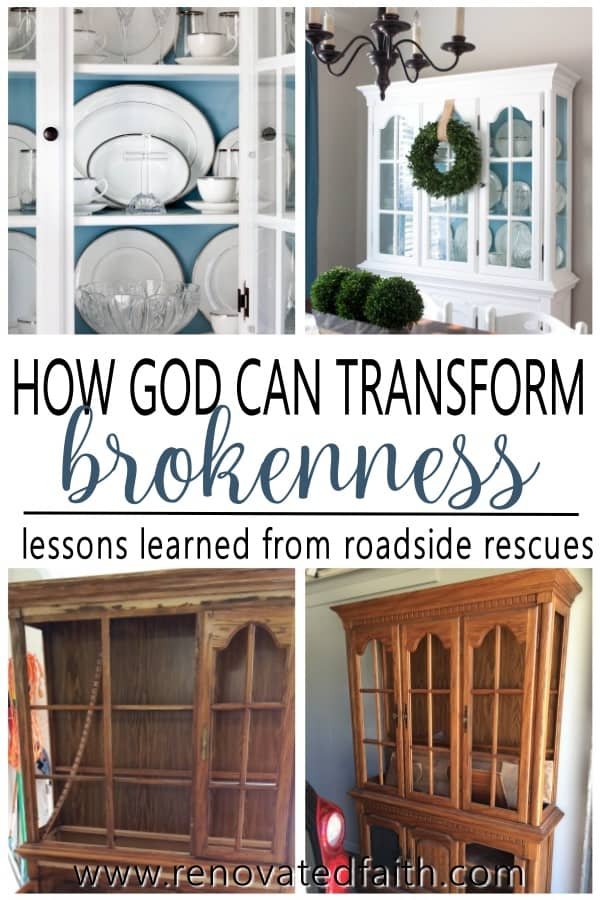 god transforms brokenness