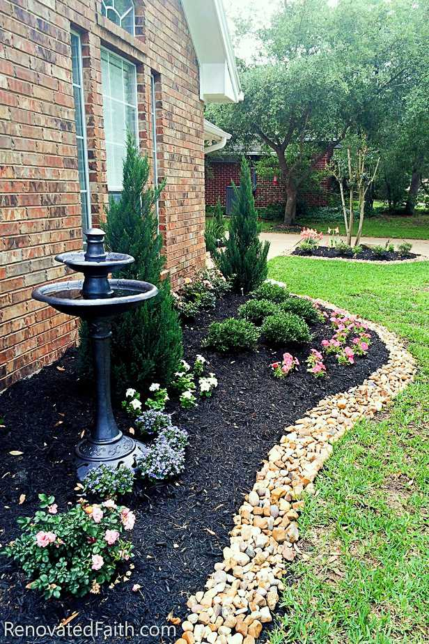 Front yard landscaping ideas renovated faith - Diy front yard landscaping ideas on a budget ...