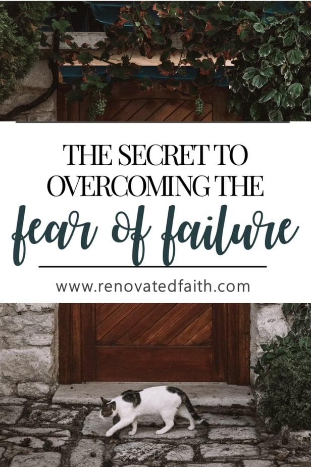 overcome the fear of failure