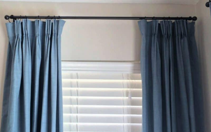 DIY Custom Curtain Rods