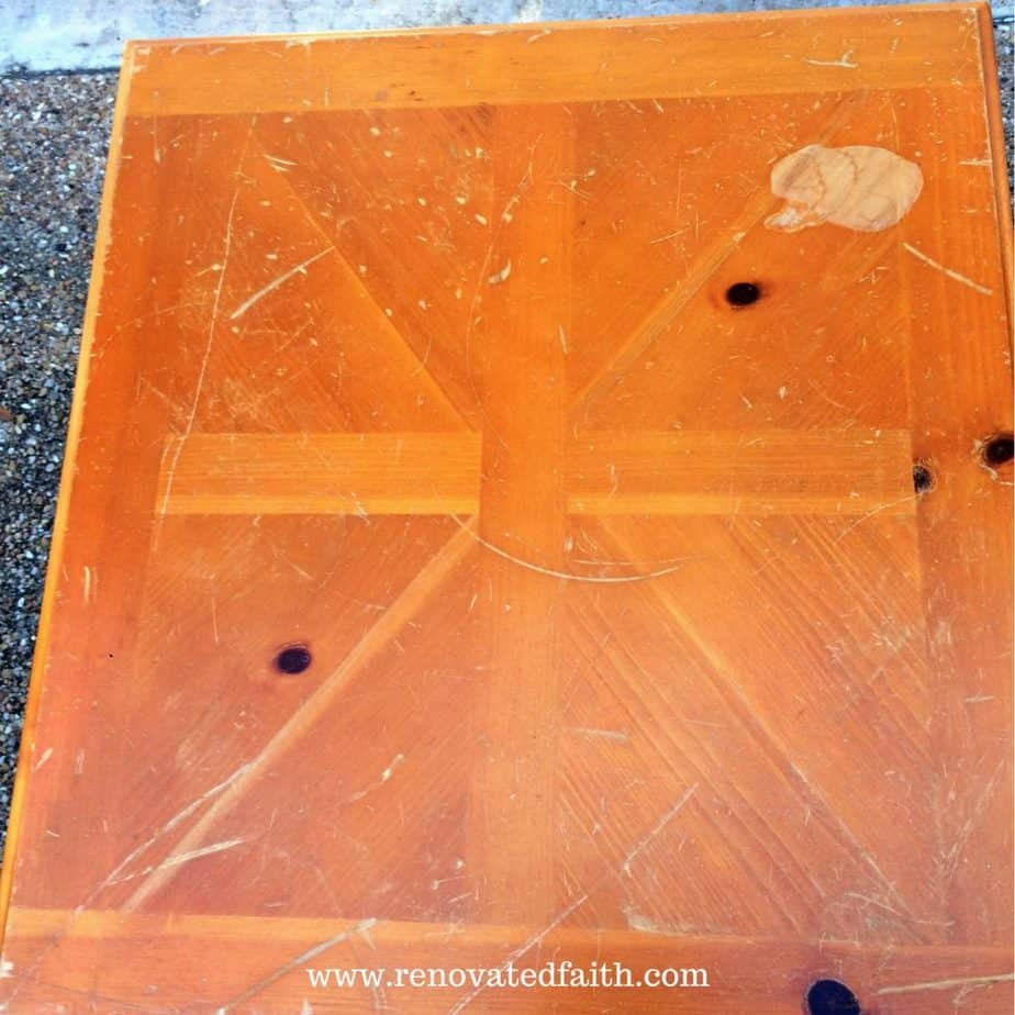 gel stain over paint