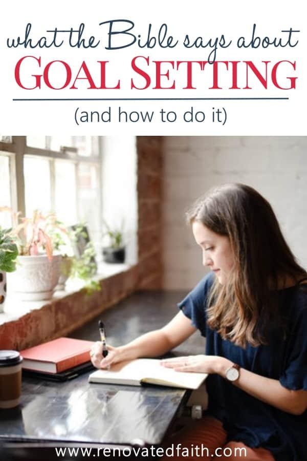 girl setting goals
