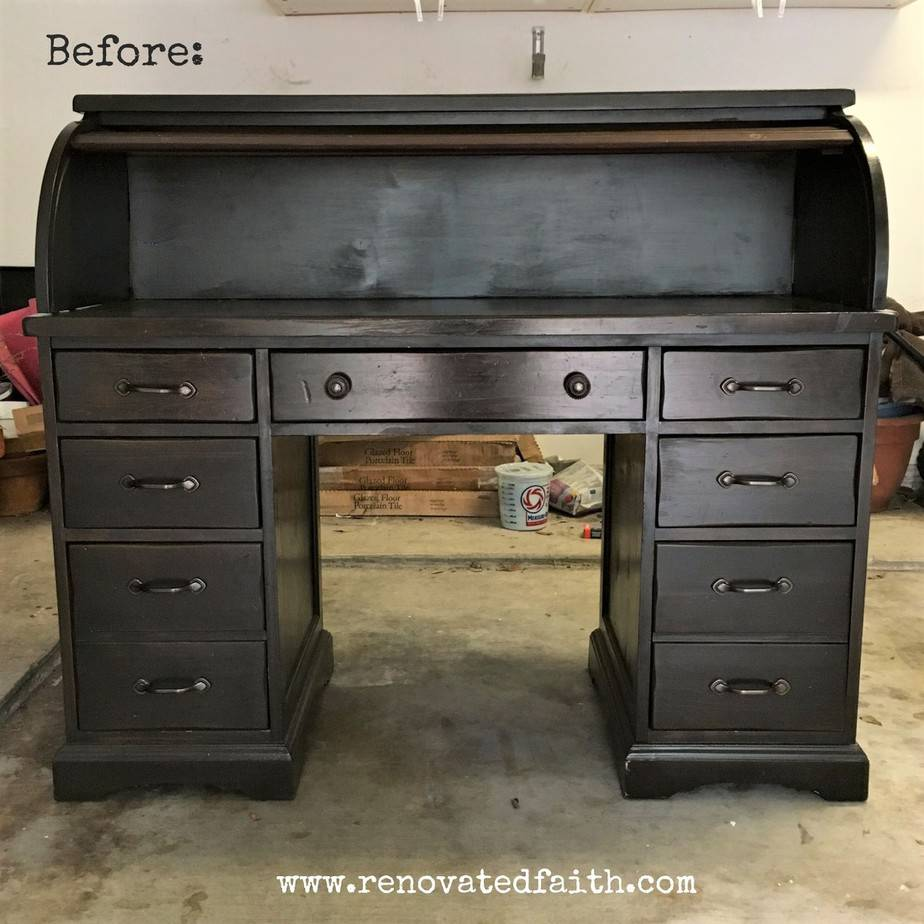 Peachy The Right Way To Refinish A Rolltop Desk Renovated Faith Download Free Architecture Designs Scobabritishbridgeorg