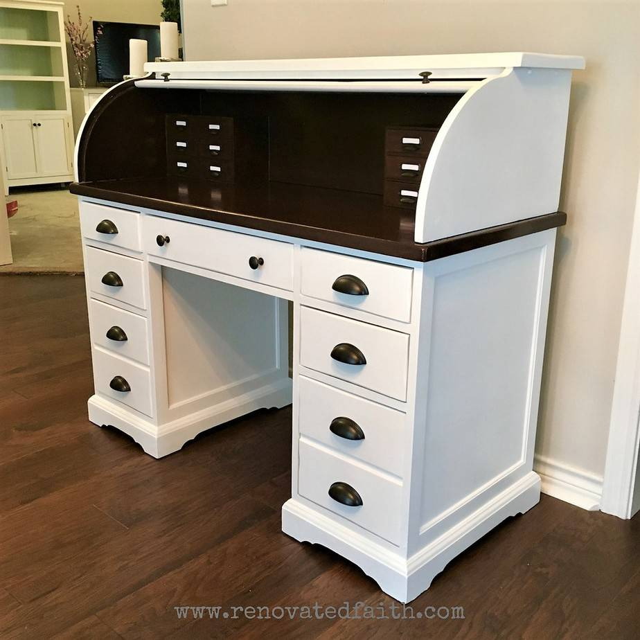 Pleasant The Right Way To Refinish A Rolltop Desk Renovated Faith Download Free Architecture Designs Scobabritishbridgeorg