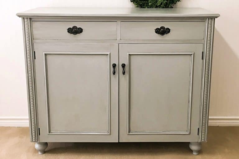 How To Add Legs To Furniture {Buffet Reveal}