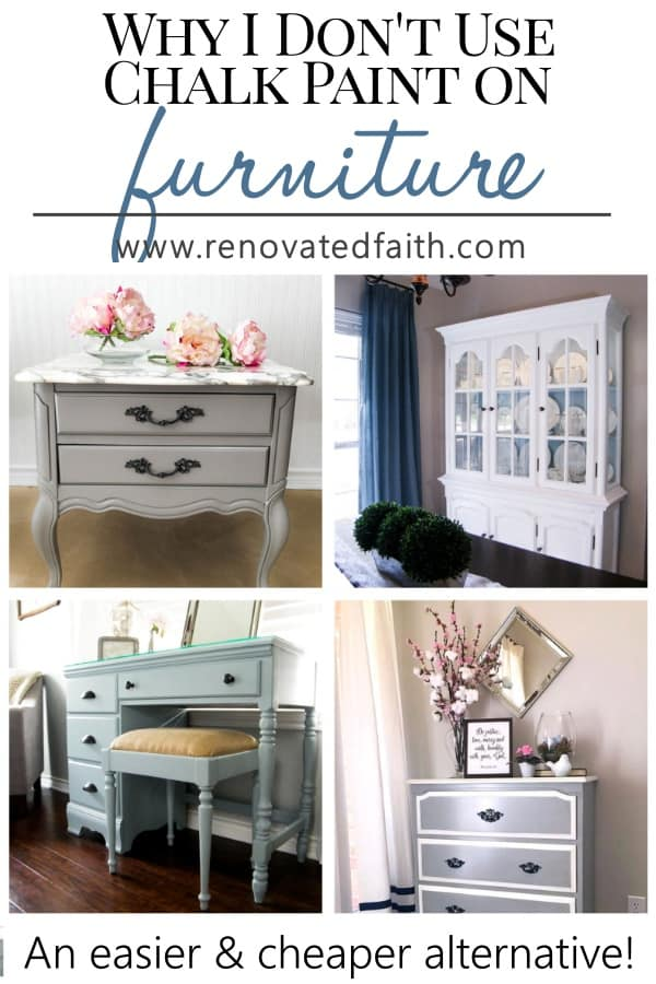 Why I Don T Use Chalk Paint On Furniture Best Latex Paint For