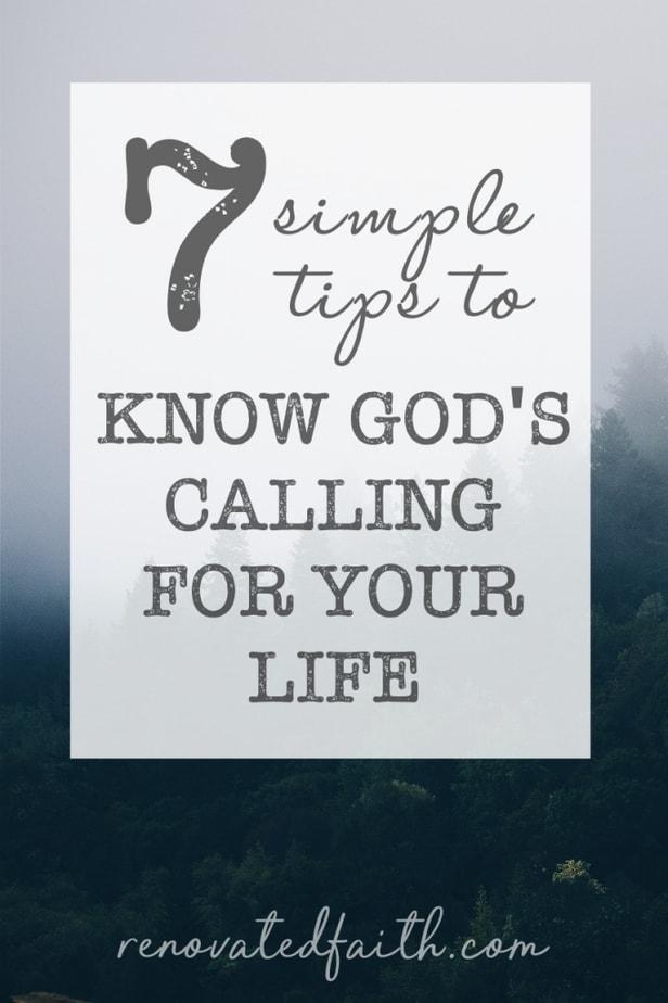 find god's calling