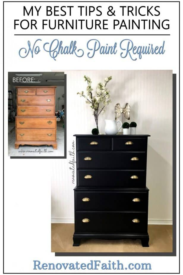 black dresser before or after