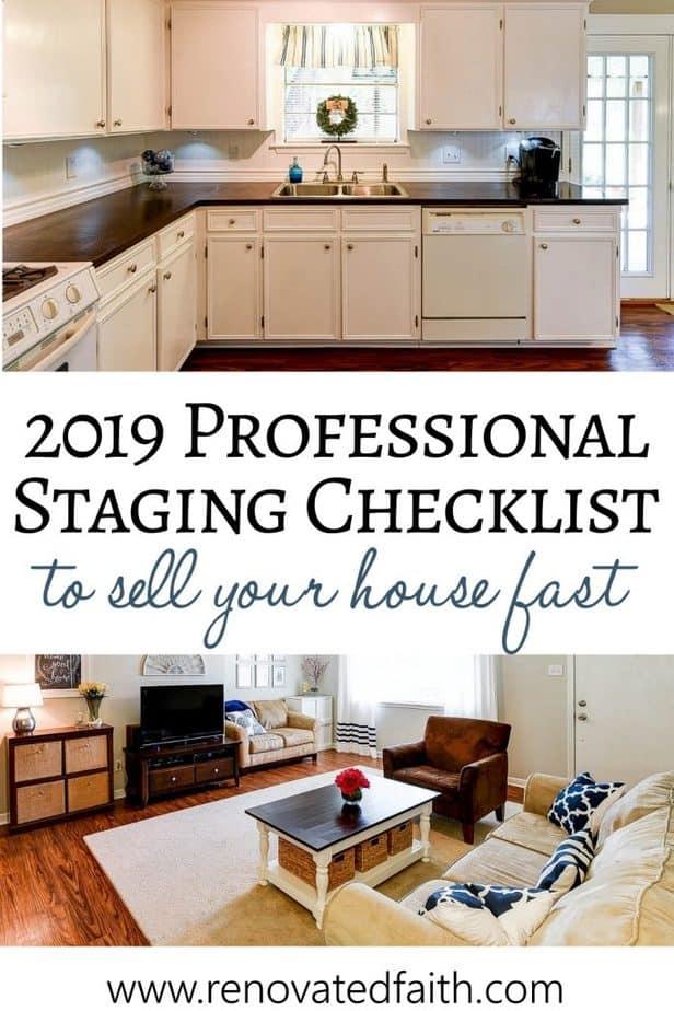 home staging checklist 2019