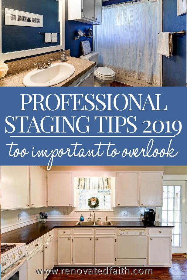 home staging checklist 2019