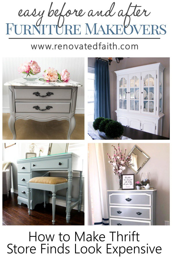 Diy Furniture Makeovers Renovated Faith
