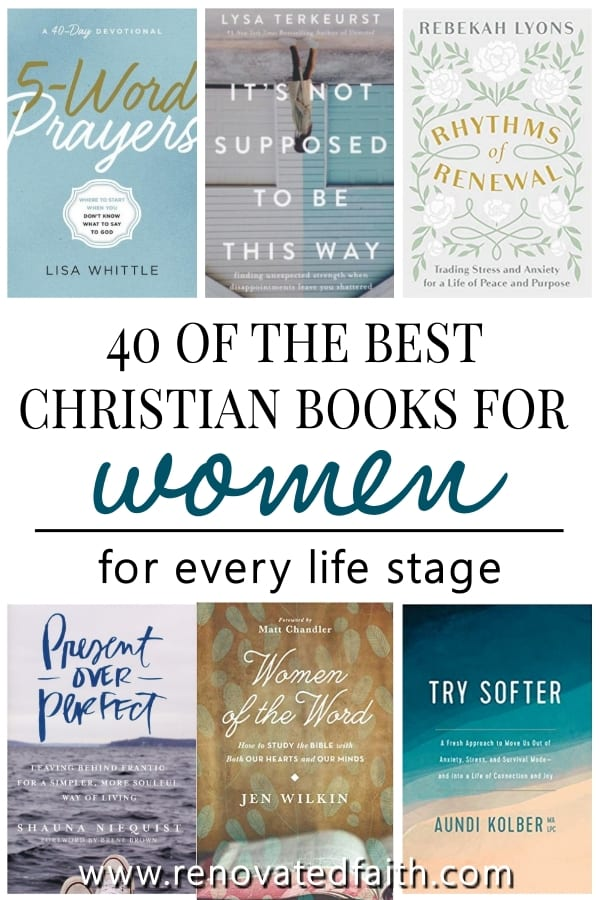 best christian books for women