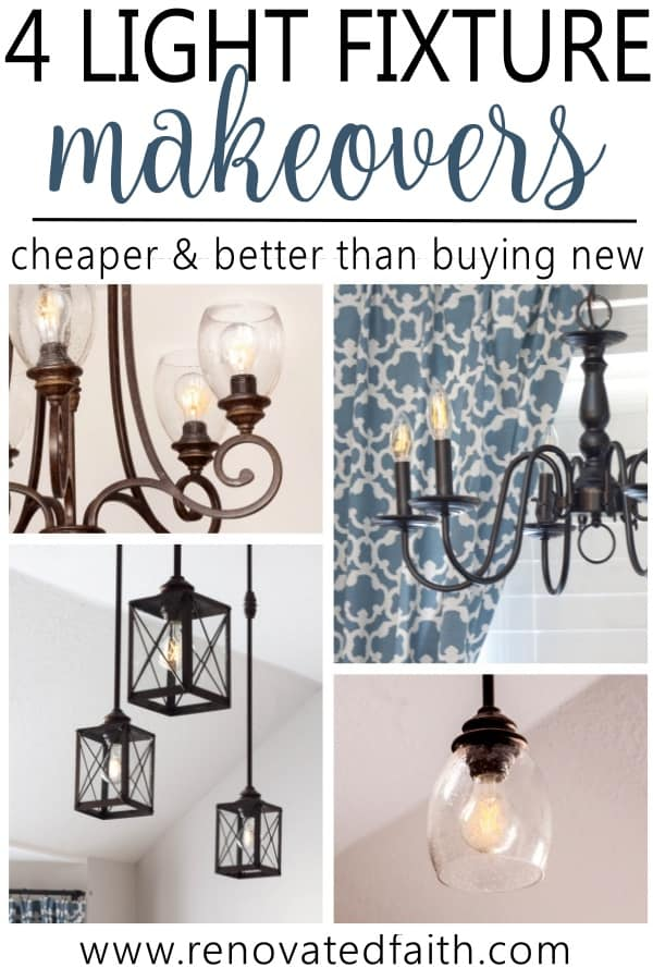 light fixture makeovers