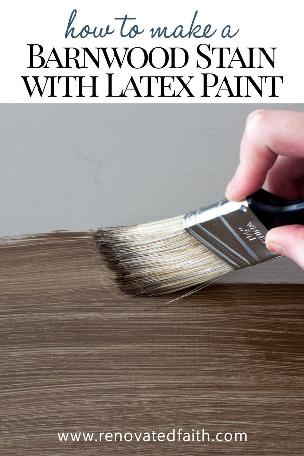 paint that looks like stain