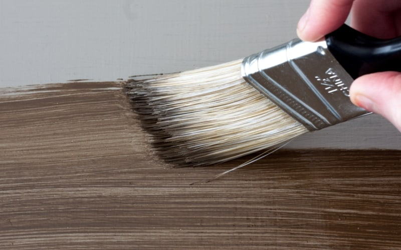 How to Apply Paint that Looks Like Stain (6 Stain Shades to Pick From!)