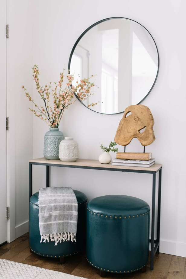 How To Decorate A Console Table Like