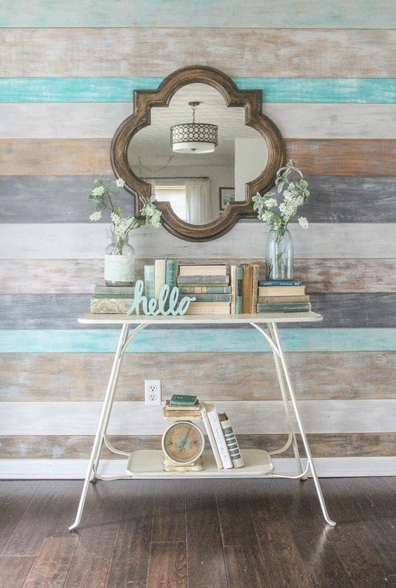 how to decorate an entry table like a pro