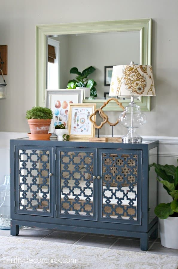 best entry table ideas