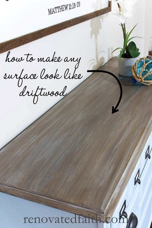 How To Paint Furniture To Look Like Driftwood