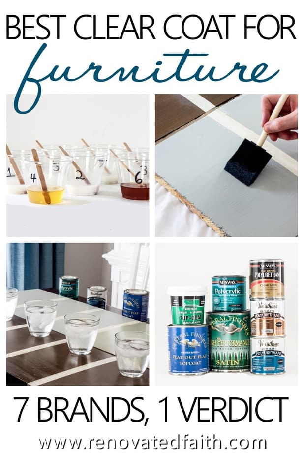 The Best Clear Coat for Furniture for 2019 (& Best Chalk