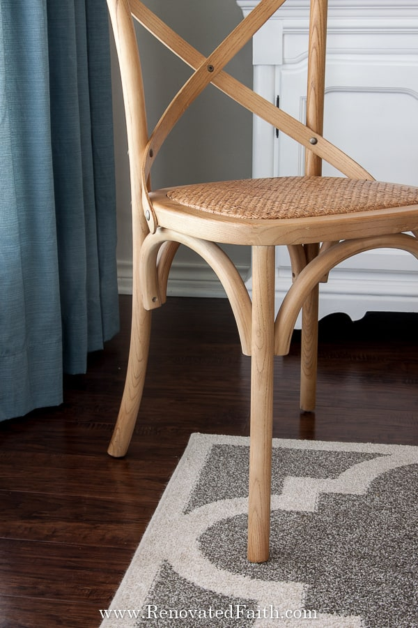 inexpensive cross back chairs