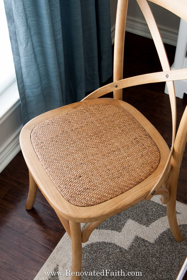 best cross back chairs