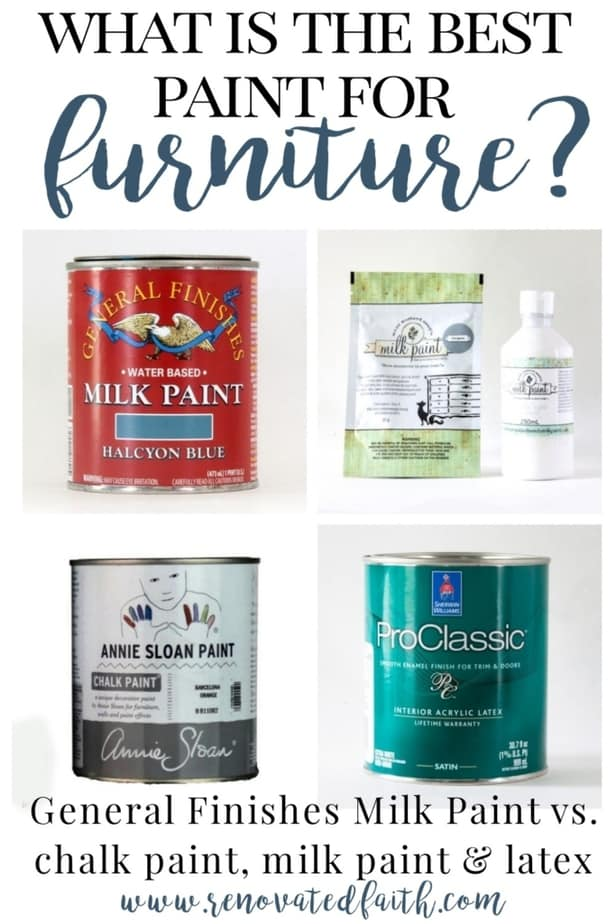 what is the best paint for furniture