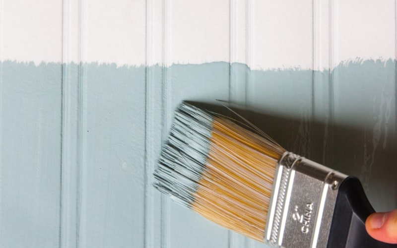 How to Hang Beadboard Wallpaper (Why It's Better Than the Real Thing!)