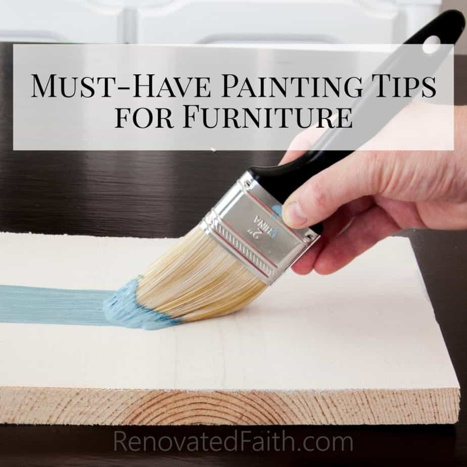 Must-Have Painting Tips for Furniture