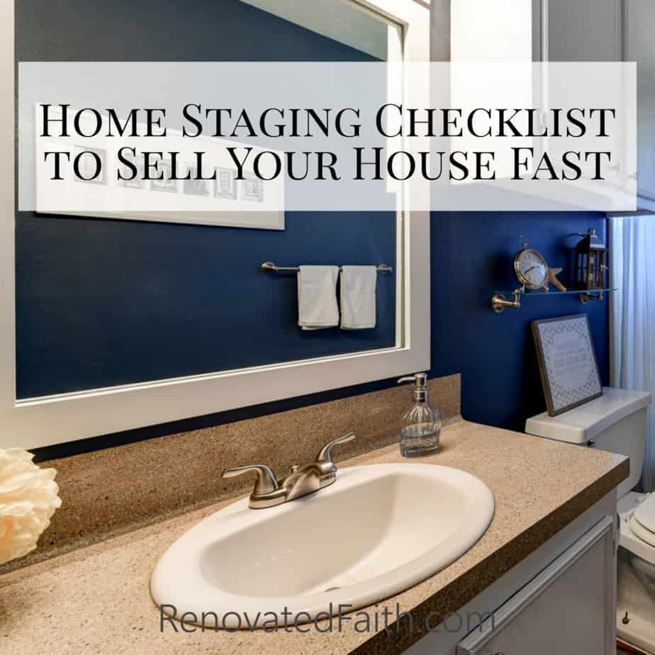 How to Sell Your House Fast Checklist