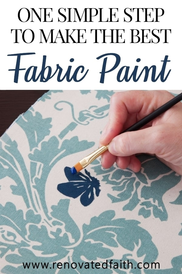 best permanent paint for fabric