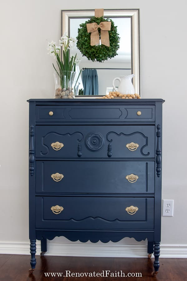 painted furniture before and after reveals