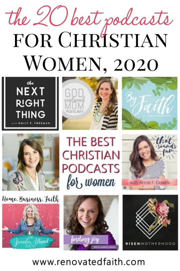 best podcasts for Christian women