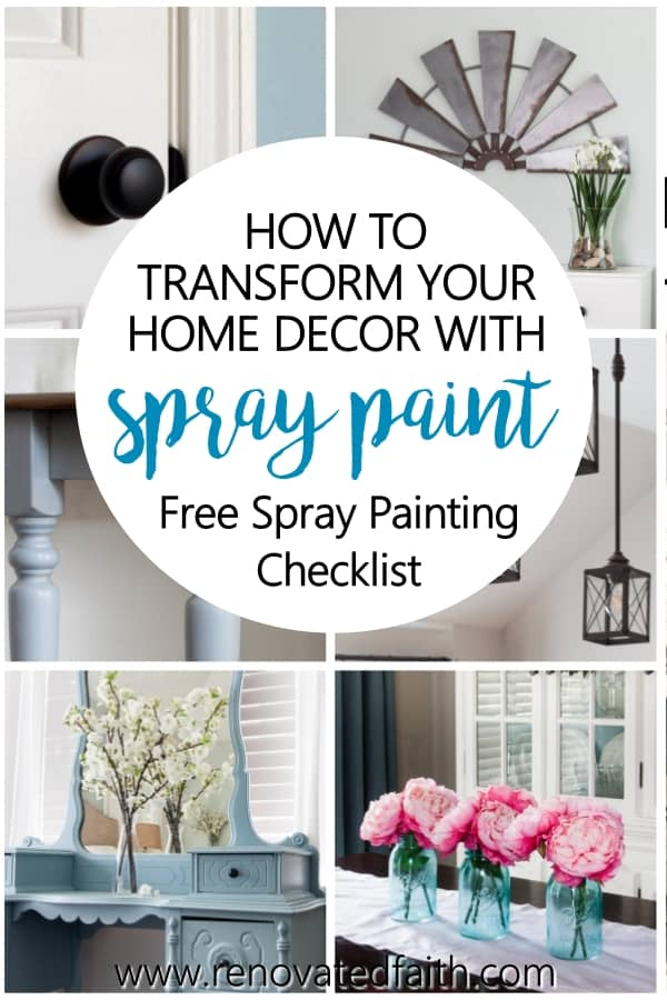 how to spray paint