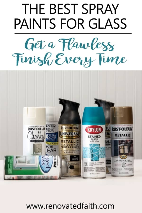 best spray paint for glass