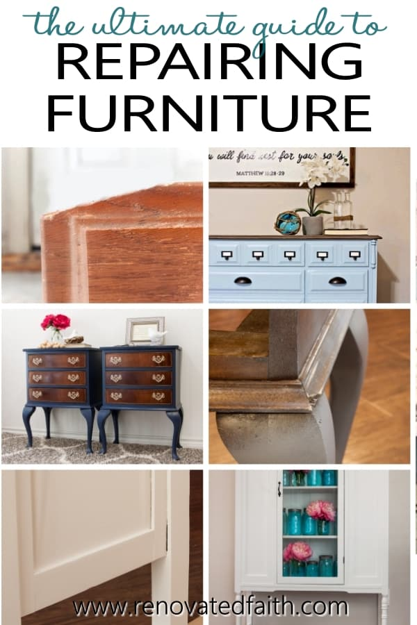 how to fix furniture