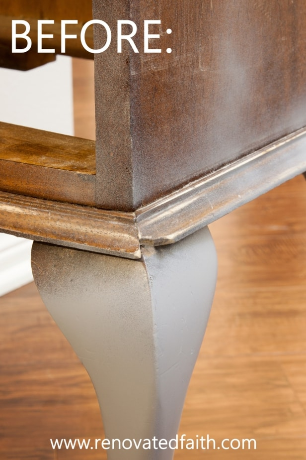 how to fix damaged wood furniture