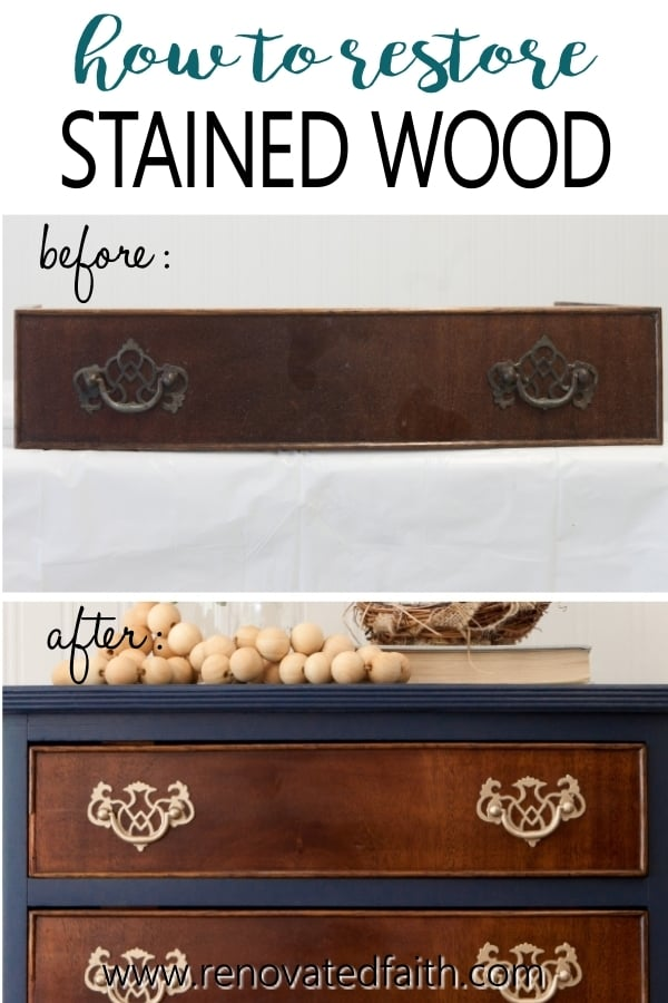how to fix damaged wood