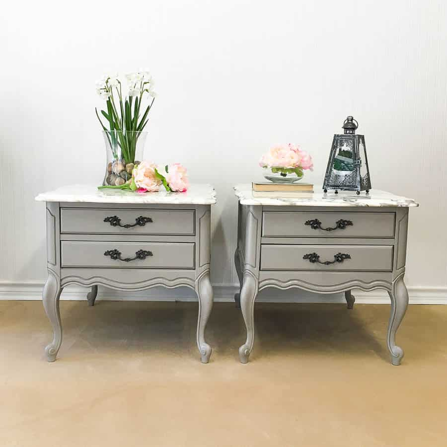 painted furniture before and after reveal