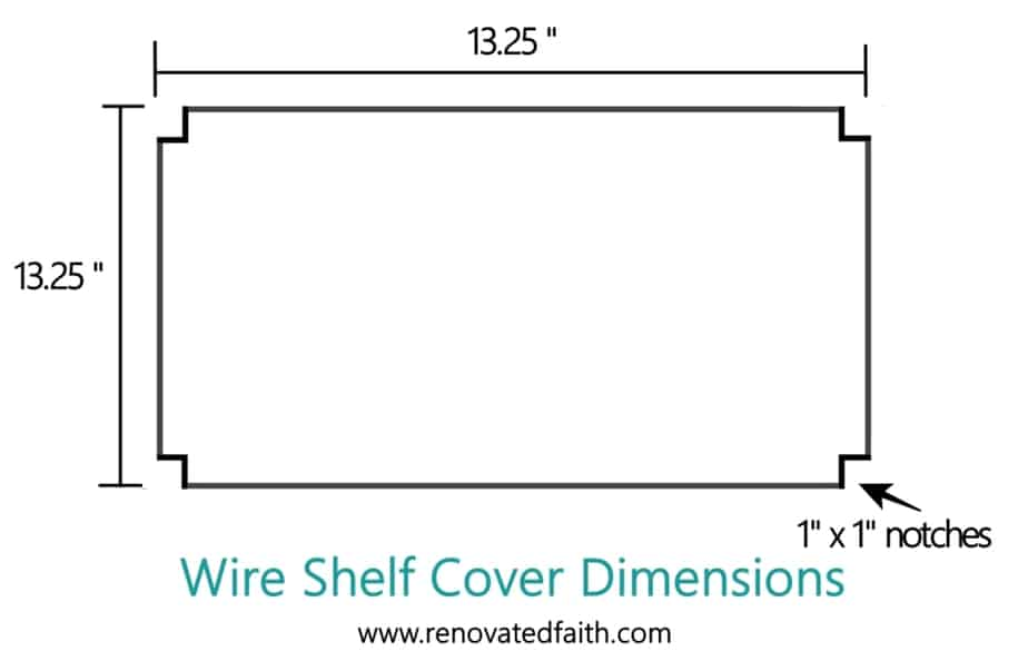 diy industrial shelves wire shelving hack