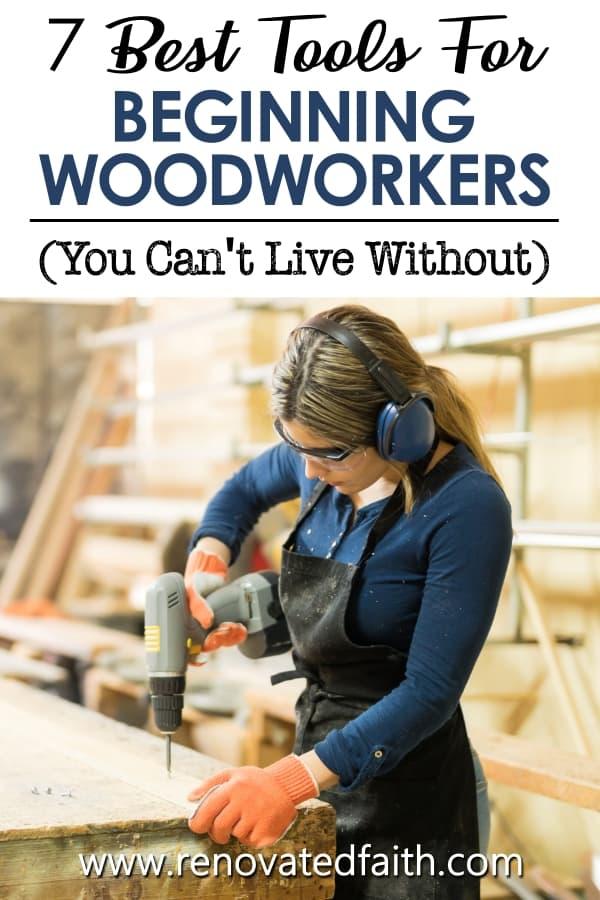 woodworking starter set