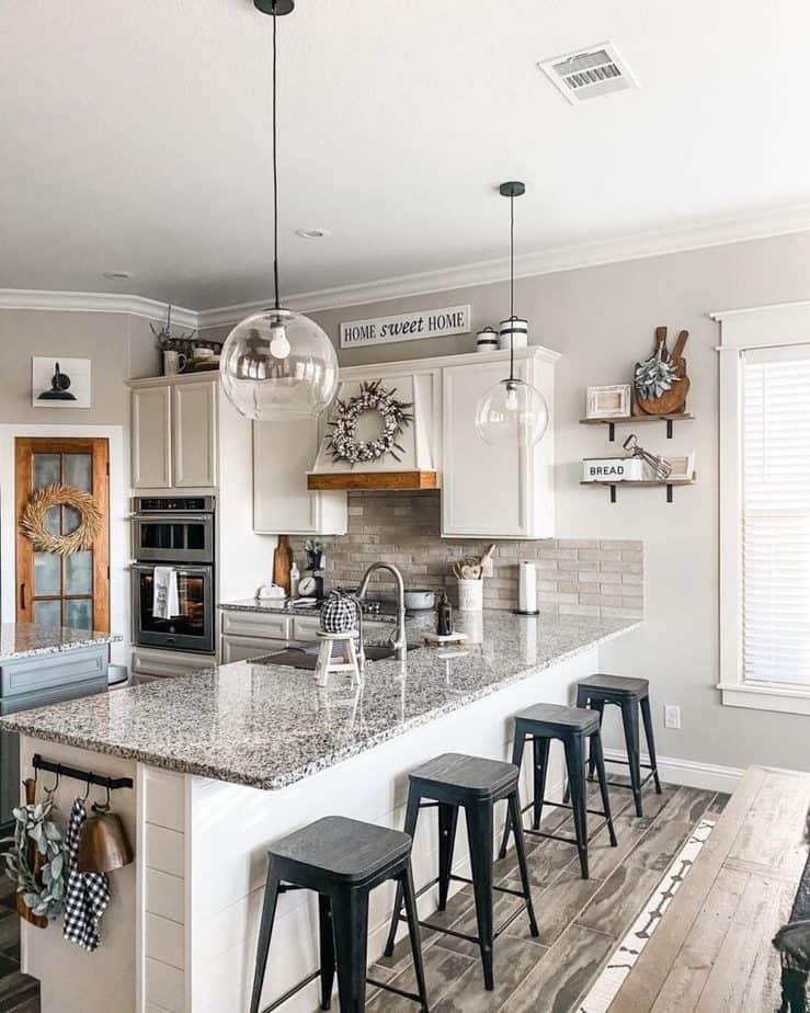 Sherwin Williams Agreeable Gray Kitchen