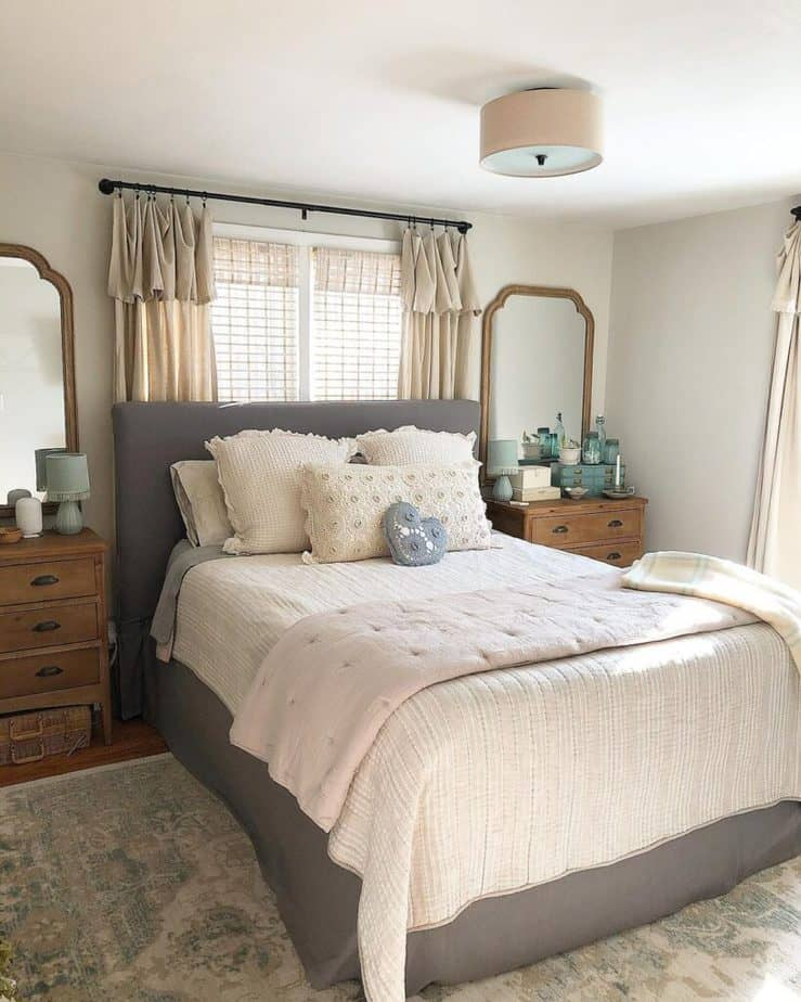 Sherwin Williams Agreeable Gray Bedroom
