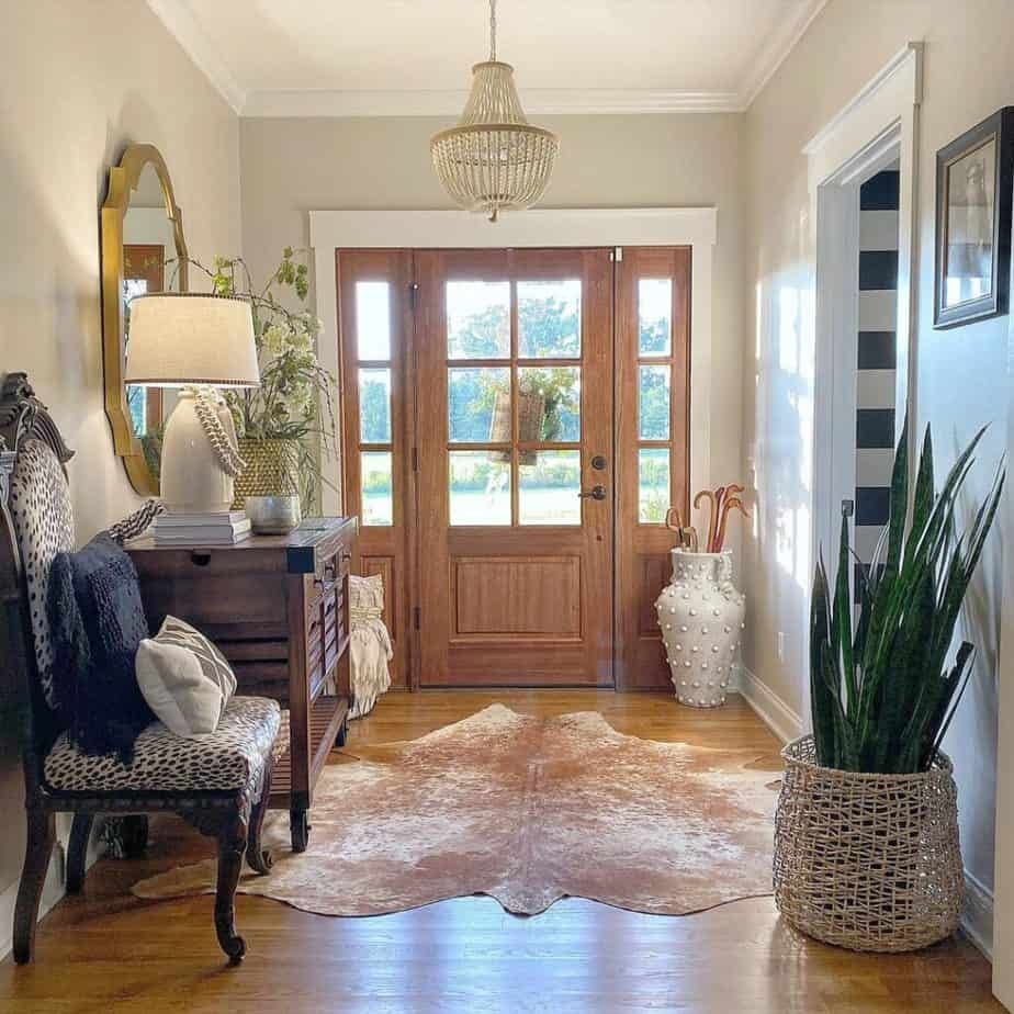 Sherwin Williams Agreeable Gray Entry Way