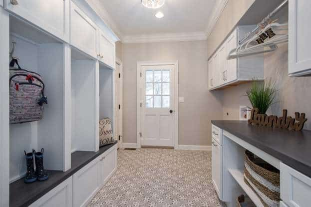 Sherwin Williams Agreeable Gray Laundry Room