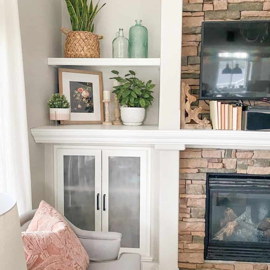 Sherwin Williams Agreeable Gray Living Room Decor
