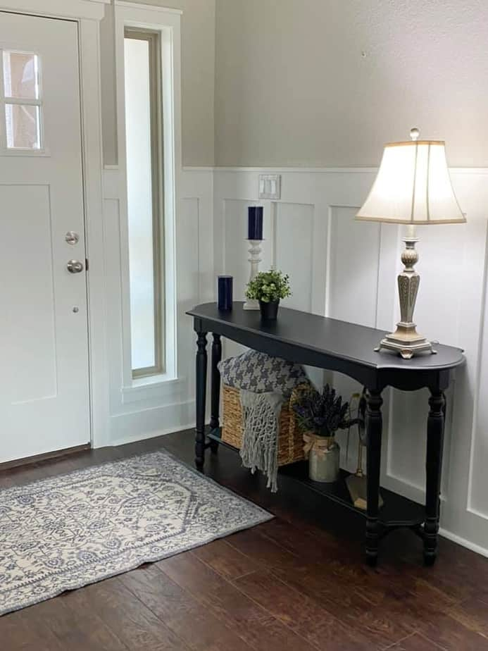 Sherwin Williams Agreeable Gray with Board and Batten
