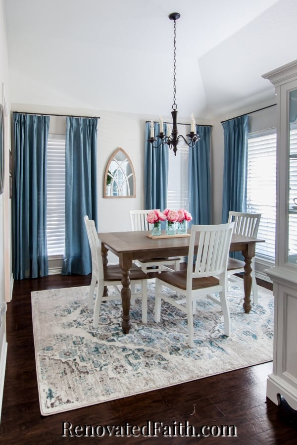 agreeable gray dining room