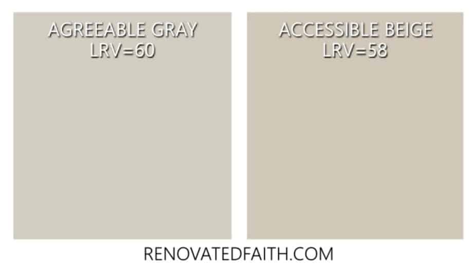 agreeable gray vs accessible beige