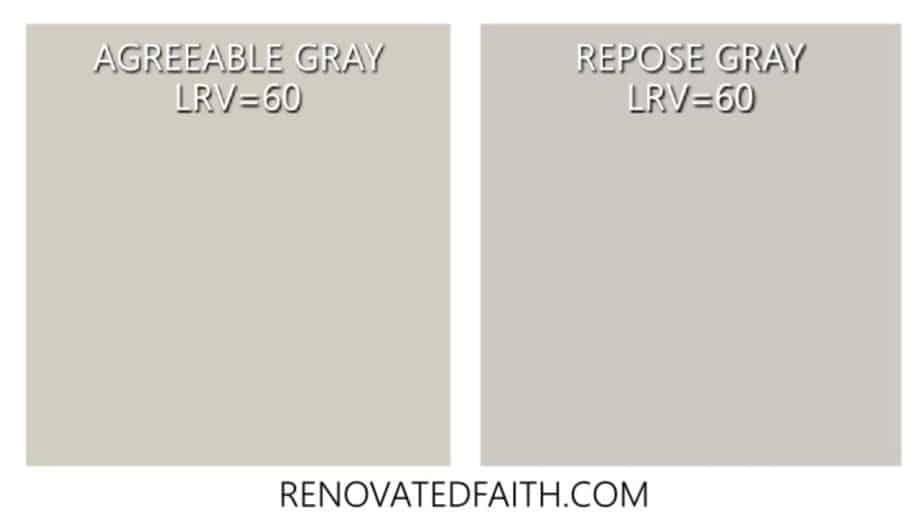 agreeable gray vs repose gray
